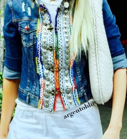 argentoblu bon ton nella moda jacket